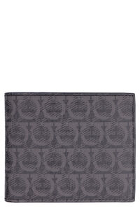 Gancini leather flap-over wallet, Wallets Salvatore Ferragamo man