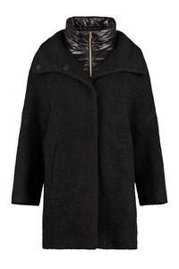 Wool blend coat, Knee Lenght Coats Herno woman