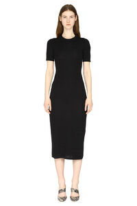 Jacquard knit midi-dress, Midi dresses Fendi woman