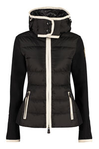 Hooded nylon jacket, Casual Jackets Moncler Grenoble woman