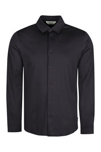 Long sleeve cotton shirt, Plain Shirts Z Zegna man