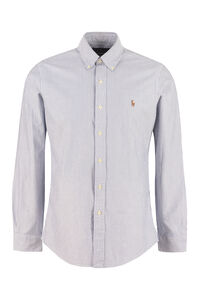 Button-down collar cotton shirt, Striped Shirts Polo Ralph Lauren man