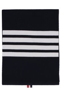 Knitted wool scarf, Scarves Thom Browne man