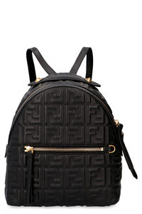 Mini leather backpack, Backpack Fendi woman