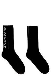 Logo cotton blend socks, Socks Givenchy man