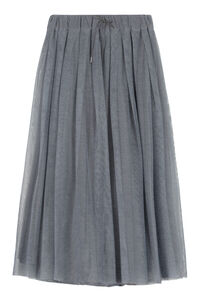 Pleated midi skirt, Midi skirts Fabiana Filippi woman