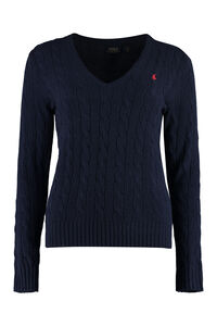 Wool and cashmere sweater, V neck sweaters Polo Ralph Lauren woman