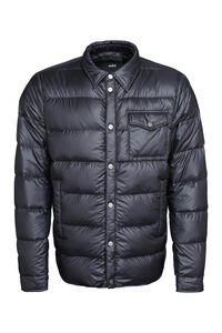 Down jacket with snaps, Down jackets add man
