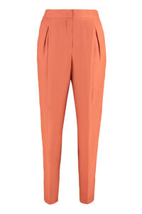 High-waist tapered-fit trousers, Tapered pants Agnona woman