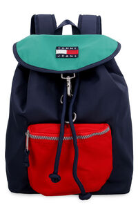 Logo detail nylon backpack, Backpack Tommy Jeans woman