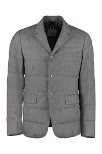 Heliere padded blazer, Single breasted blazers Moncler man