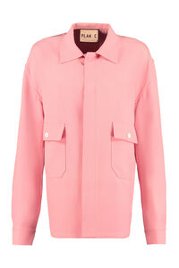 Buttoned jacket, Casual Jackets Plan C woman