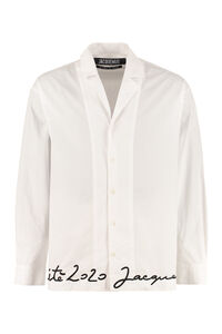 Coup de Soleil long sleeves stretch cotton shirt, Plain Shirts Jacquemus man