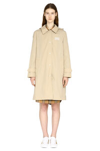 Techno fabric raincoat, Raincoats And Windbreaker Burberry woman