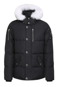 3Q padded parka with fur-trim hood, Parkas Moose Knuckles man