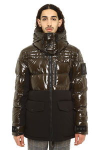 Dugald full zip padded hooded jacket, Down jackets Moose Knuckles man