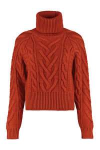 Cable knit sweater, Turtleneck sweaters Dolce & Gabbana woman
