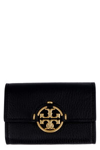 Miller small grainy leather wallet, Wallets Tory Burch woman