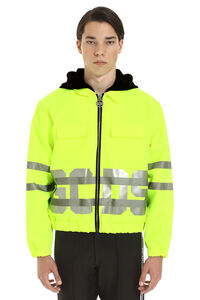 Techno fabric jacket, Raincoats And Windbreaker GCDS man