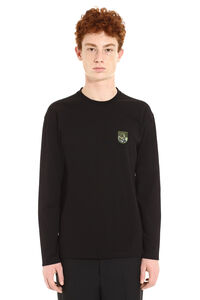 Tiger Mountain stretch cotton T-shirt, Long sleeve t-shirts Kenzo man