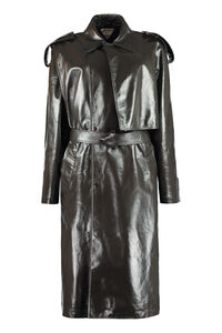 Leather trench coat, Leather Jackets Bottega Veneta woman