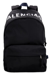 Wheel nylon backpack, Backpack Balenciaga man