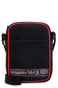 Nylon messenger bag, Messenger bags Alexander McQueen man