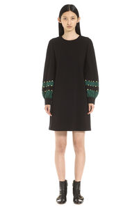 Ponte embellished color-block dress, Mini dresses Tory Burch woman