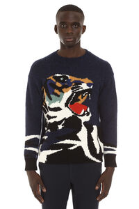 Long-sleeved crew-neck sweater, Crew necks sweaters Kenzo man