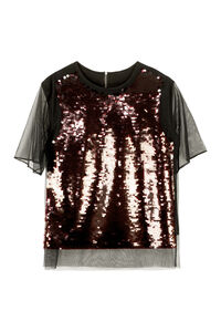 Sequined top, Blouses MCQ woman