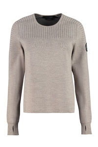 Elmvale merino wool blend sweater, Crew neck sweaters Canada Goose woman