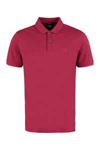 Cotton-piqué polo shirt, Short sleeve polo shirts BOSS man
