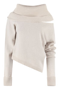Wool and cachemire turtleneck pullover, Turtleneck sweaters Federica Tosi woman