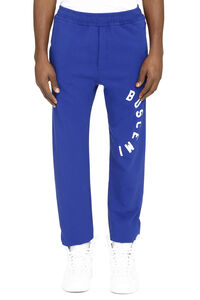 Logo detail cotton track-pants, Track Pants Buscemi man