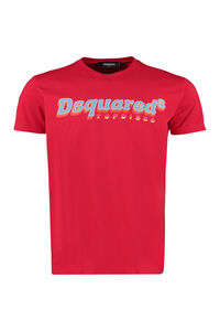 Crew-neck cotton t-shirt, Short sleeve t-shirts Dsquared2 man