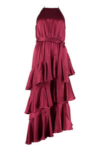 Silk dress with frills, Midi dresses Zimmermann woman
