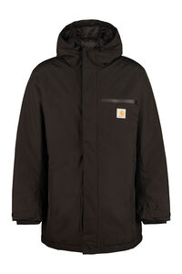 Techno fabric padded jacket, Parkas Carhartt man