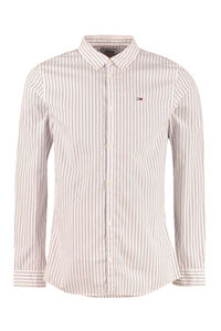 Striped cotton shirt, Striped Shirts Tommy Jeans man