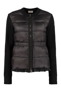Padded front panel cardigan, Casual Jackets Moncler woman