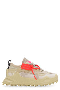 Odsy techno-fabric and leather sneakers, Low Top Sneakers Off-White man