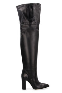 Leather boots, Knee-high Boots Paris Texas woman