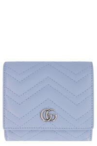 GG Marmont leather wallet, Wallets Gucci woman