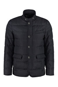 Padded herringbone jacket, Down jackets Herno man