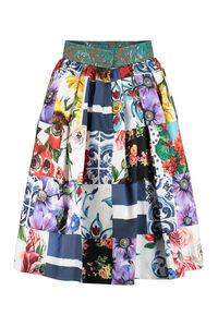 Printed cotton skirt, Printed skirts Dolce & Gabbana woman