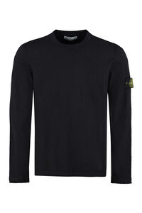 Cotton blend crew-neck sweater, Crew necks sweaters Stone Island man