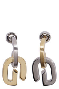 G Link pendant earrings, Earrings Givenchy woman