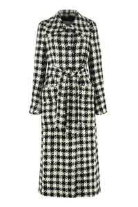 Brooklyn houndstooth coat, Long Lenght Coats Rodebjer woman