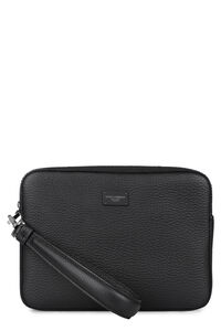 Palermo leather clutch, Poches Dolce & Gabbana man