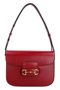 Gucci 1955 Horsebit leather shoulder bag, Top handle Gucci woman