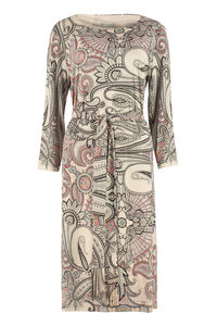 Paisley jersey dress, Printed dresses Etro woman
